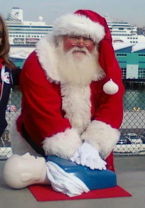 CPR-Santa