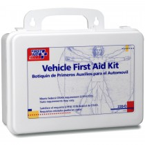 OSHA & DOT require Vehicle First Aid Kits in all business and fleet vehicles