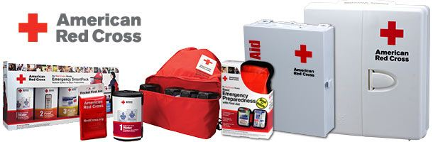 See all our American Red Cross Emergency, Disaster, Survival, First Aid, & CPR Products!