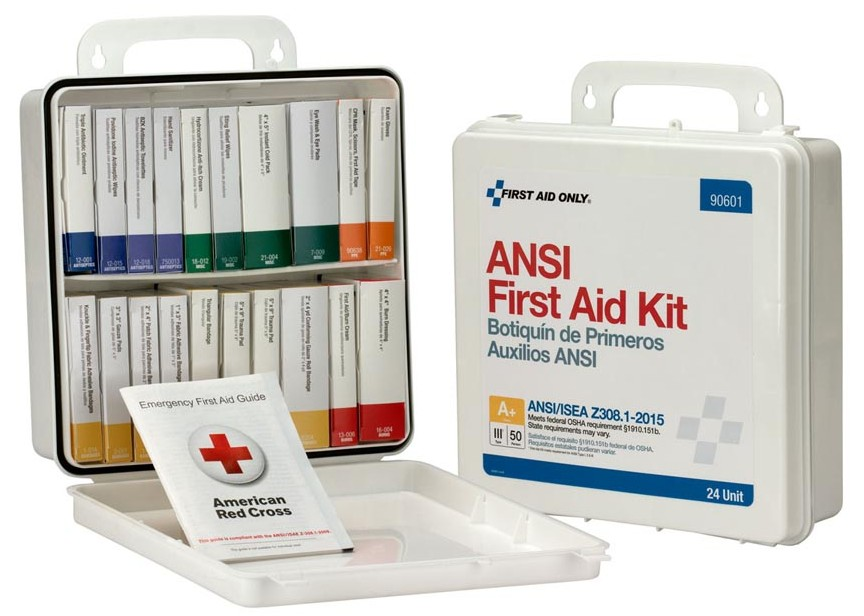 See all New ANSI 2015 Standard Compliant First Aid Kits and Cabinets!