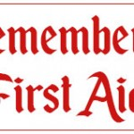 Remember, Remember.. First Aid in November!