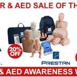 EXTRA 20% OFF CPR AND AED AWARENESS WEEK 2017