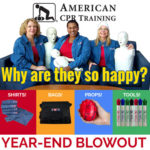 It's the American CPR Training™  YEAR-END BLOWOUT