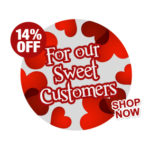 14% OFF VALENTINES DAY SALE 2020