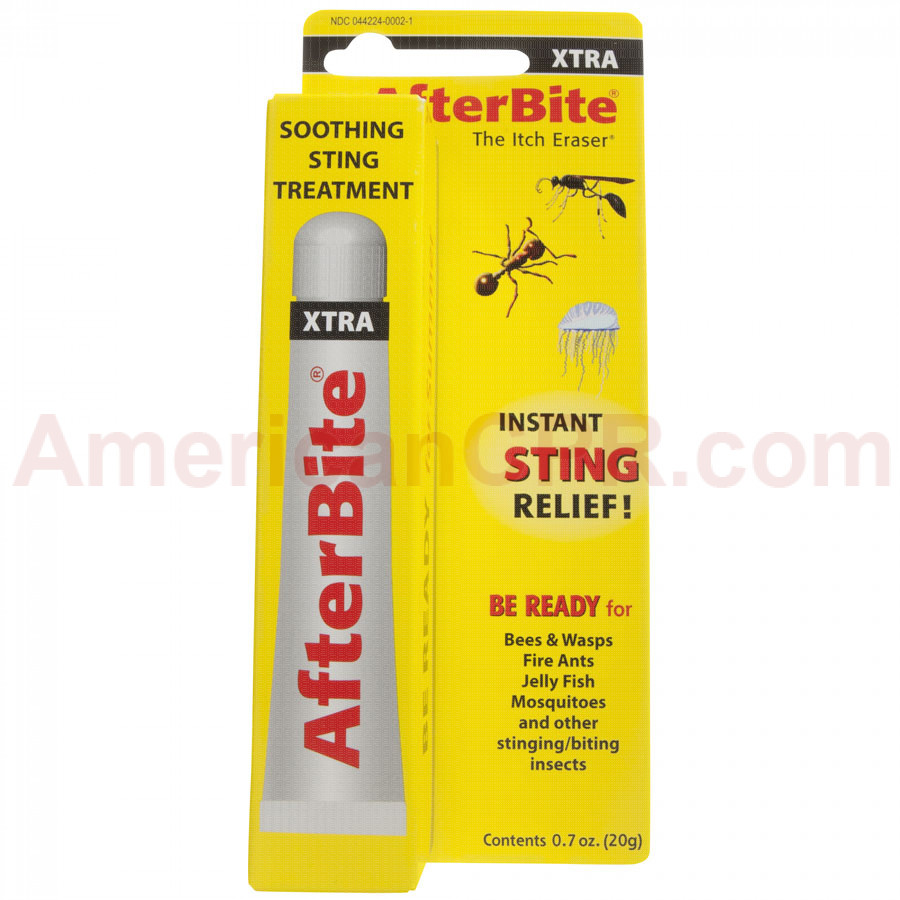 Clear packaging and instructions make After Bite Xtra an easy choice for sting relief
