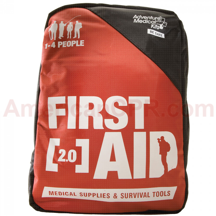 The 2.0 is ideal for families, scouts, and anyone else who enjoys outdoor adventure - contains enough first aid and medical gear for 1-4 people for 1-4 days