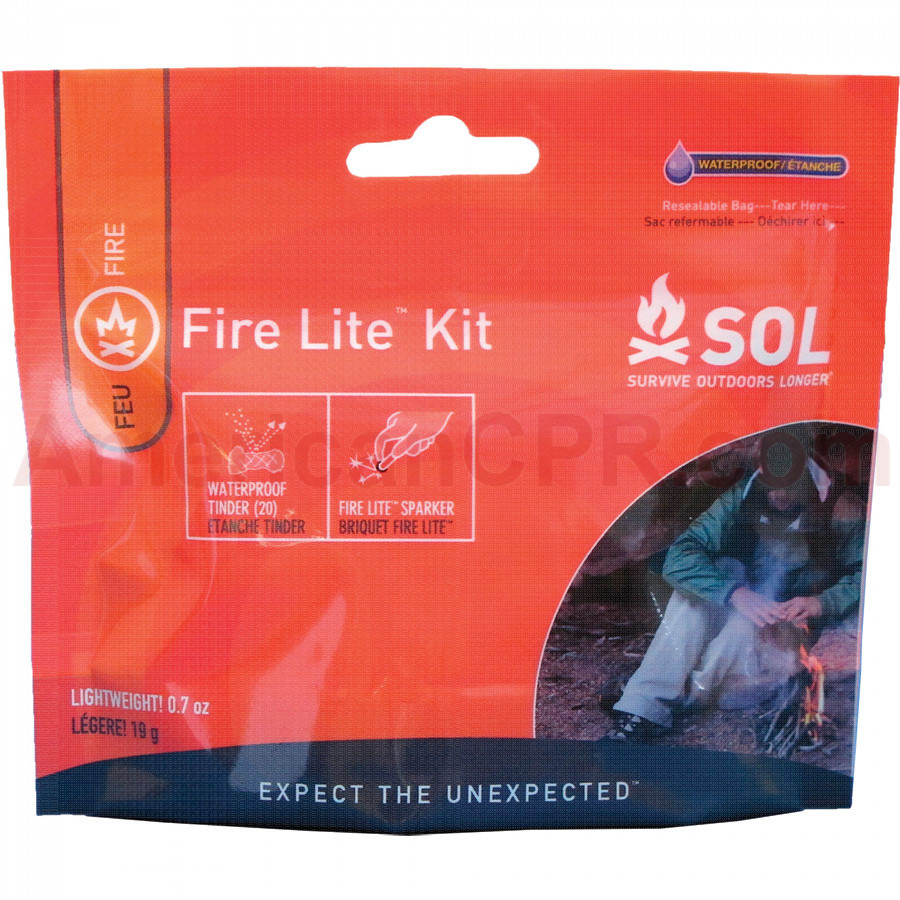 Survive Outdoors Longer® Fire Lite™ Kit is the ultimate fire starter kit