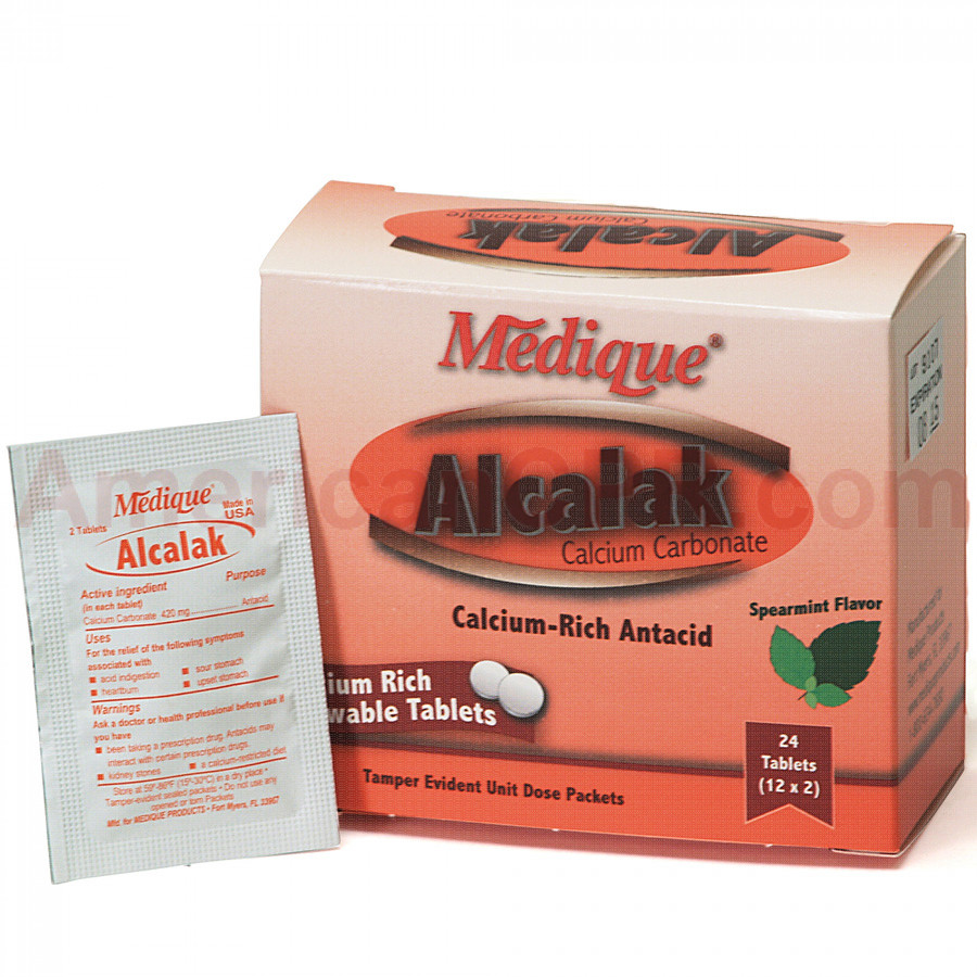 Alcalak, 24/box, Medique