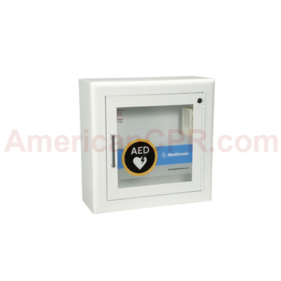 Physio-Control AED Wall Cabinet with Alarm - Physio-Control