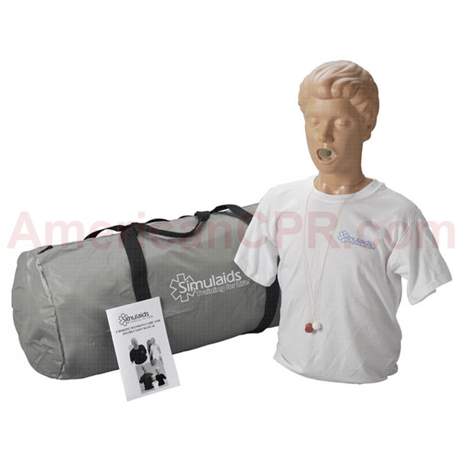 Adult Choking Manikin - Simulaids