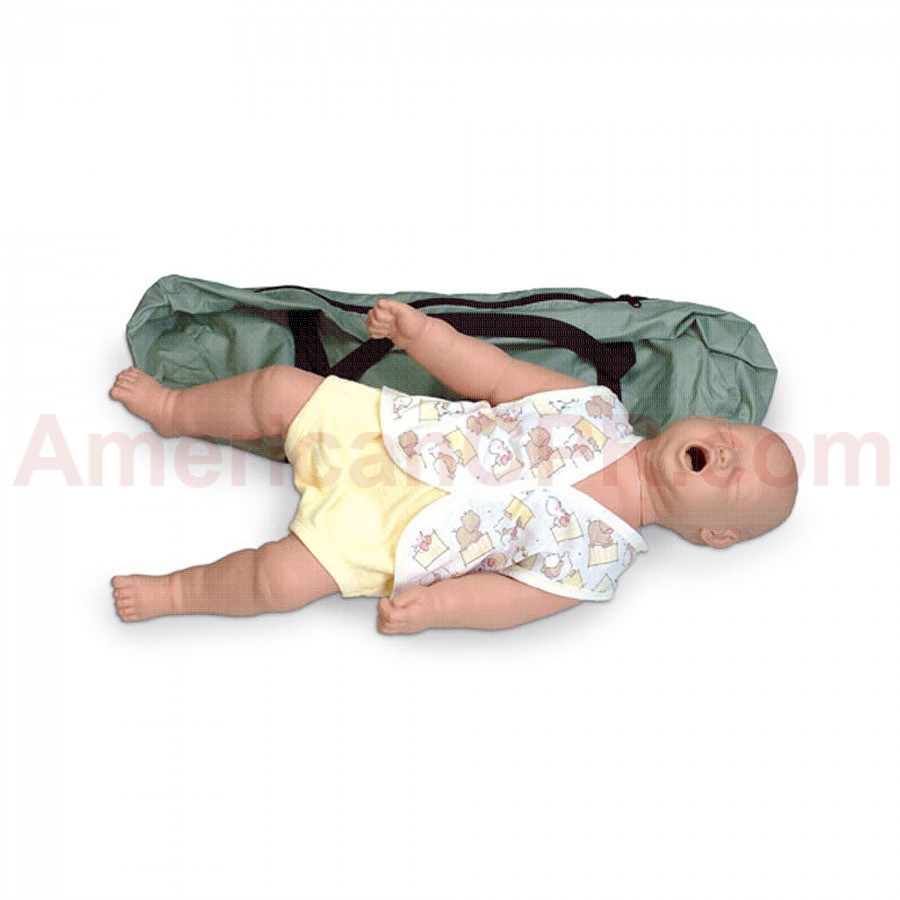 Infant Choking Manikin w/ Carry Bag - Simulaids