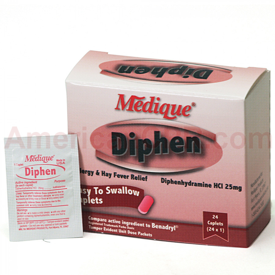 Diphen, 24/box, Medique