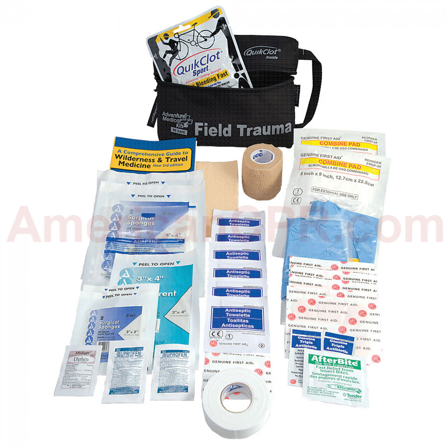 Adventure Medical Tactical Field Trauma with QuikClot - Adventure Medical Kits