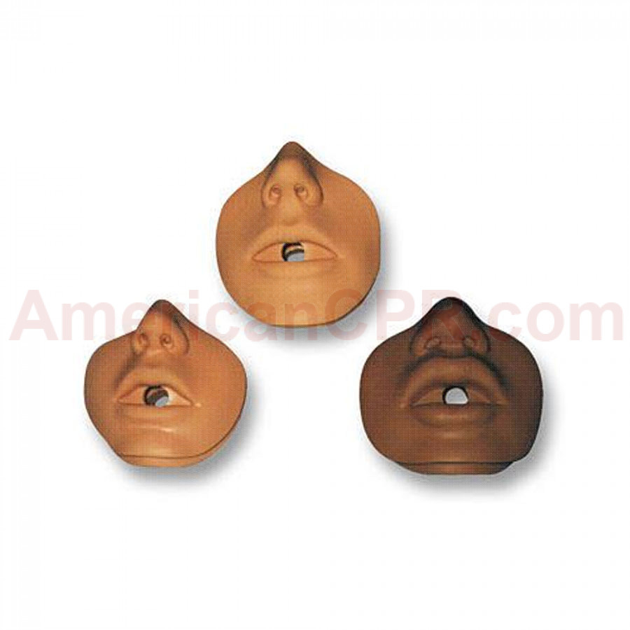 Danny/Kevin Channel Mouth/Nose Piece - 10 Per Pack - Simulaids
