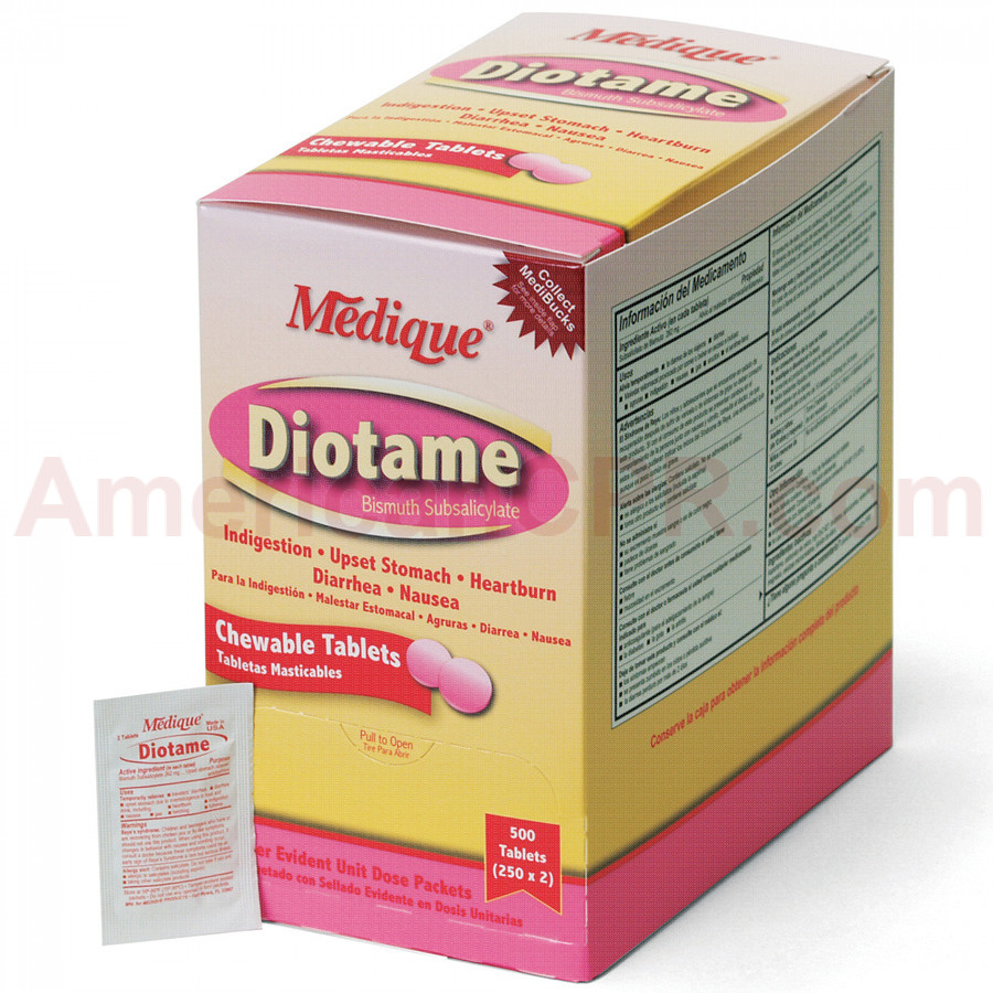 Diotame, 500/box, Medique