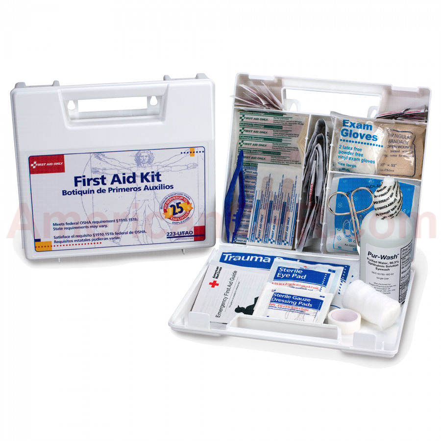 Large 25 Person Bulk First Aid Kit - First Aid Only
