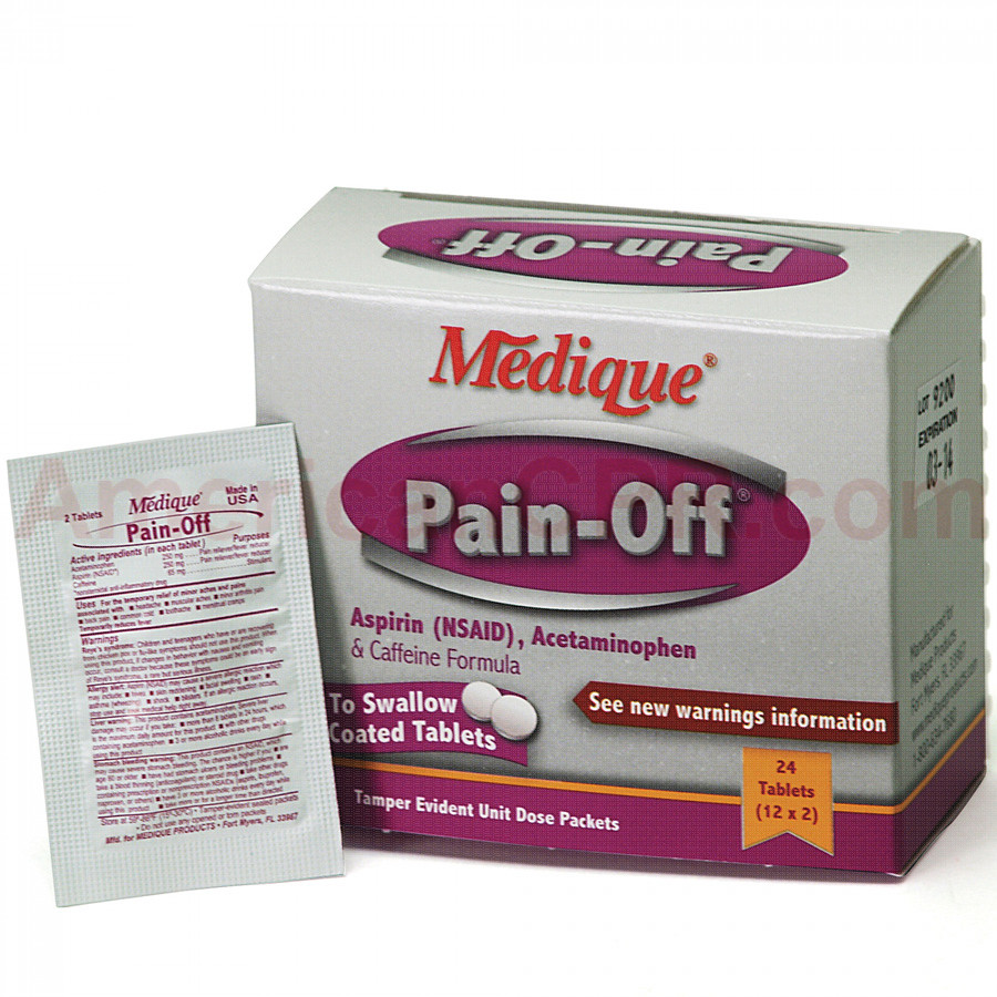 Pain Off, 24/box, Medique