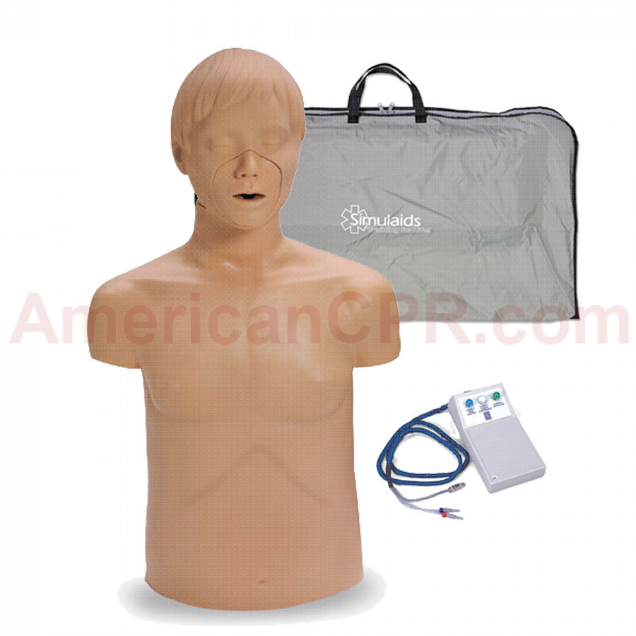Adam Adult CPR Manikin w/ Electronics and Carry Bag - Simulaids