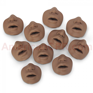 Paul/David Mouth/Nose Pieces - 10 Per Pack - Simulaids