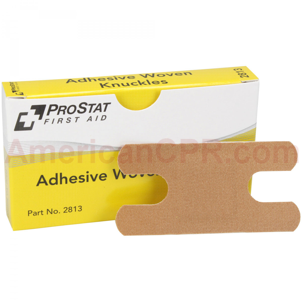 Knuckle Adhesive Bandages, Woven, 8 per box, Prostat First Aid
