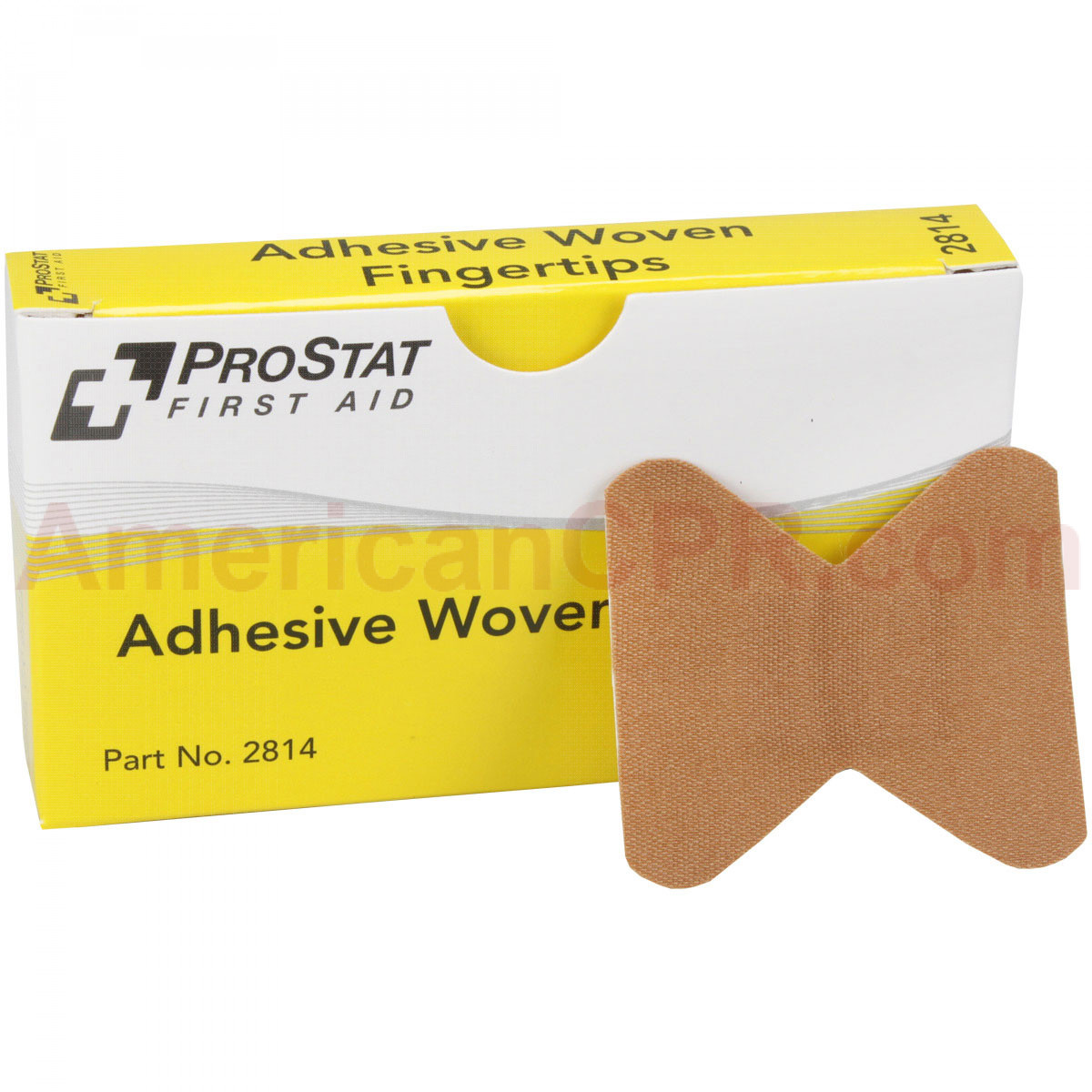 Fingertip Adhesive Bandages, Woven, 8 per box, Prostat First Aid