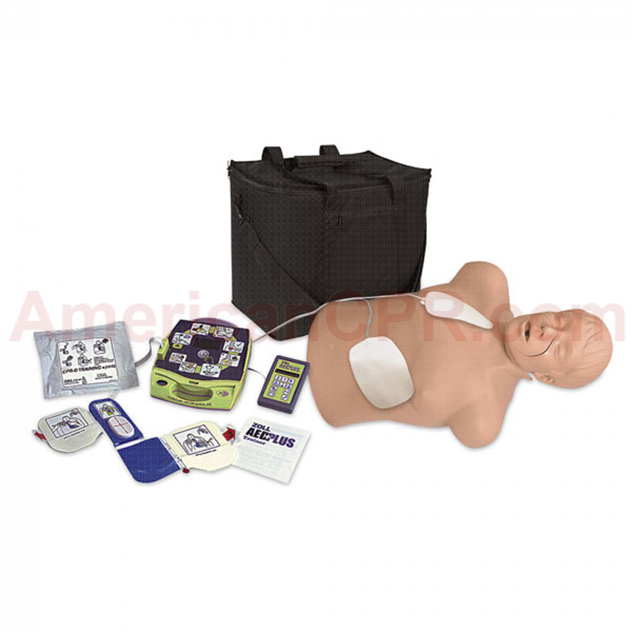 Zoll AED Trainer Package with CPR Brad Manikin - Simulaids