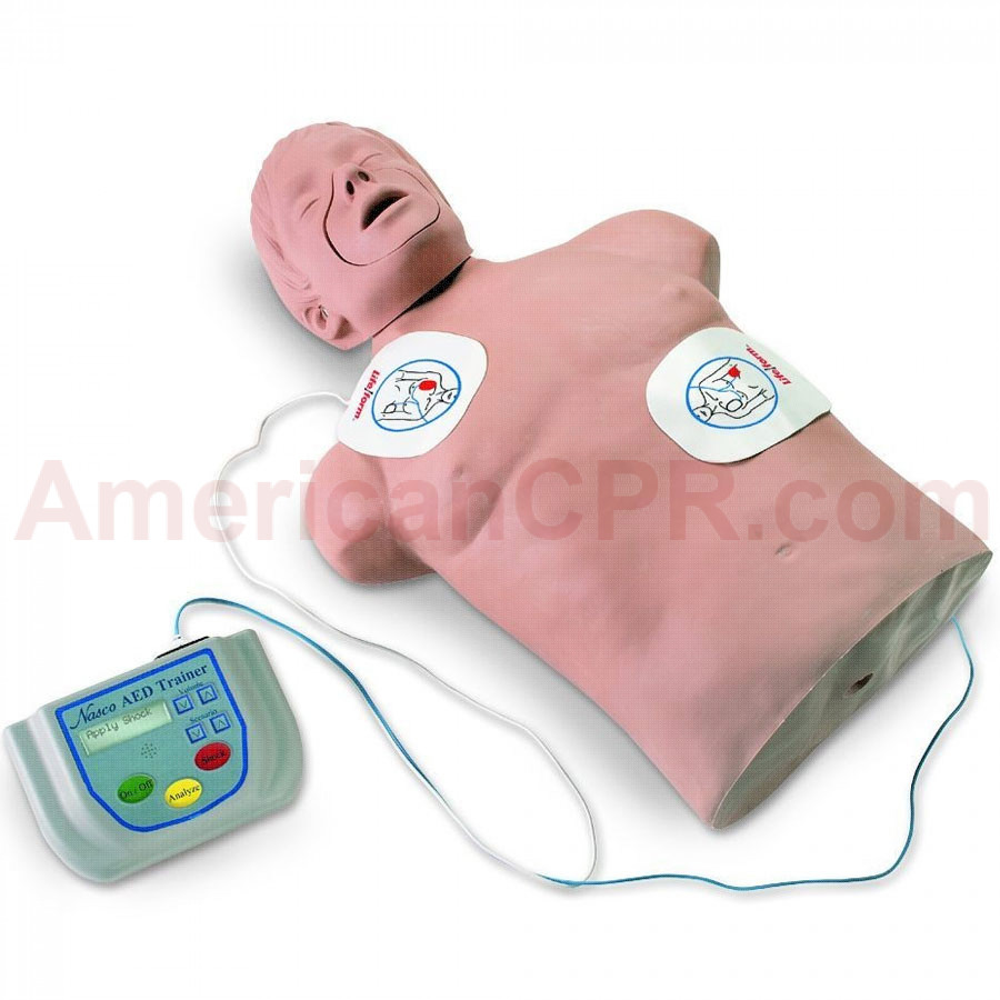 Life/form AED Trainer Package with CPR Brad - LifeForm