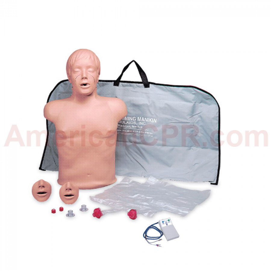 Brad CPR Training Manikin w/ Electronics and Bag - Simulaids