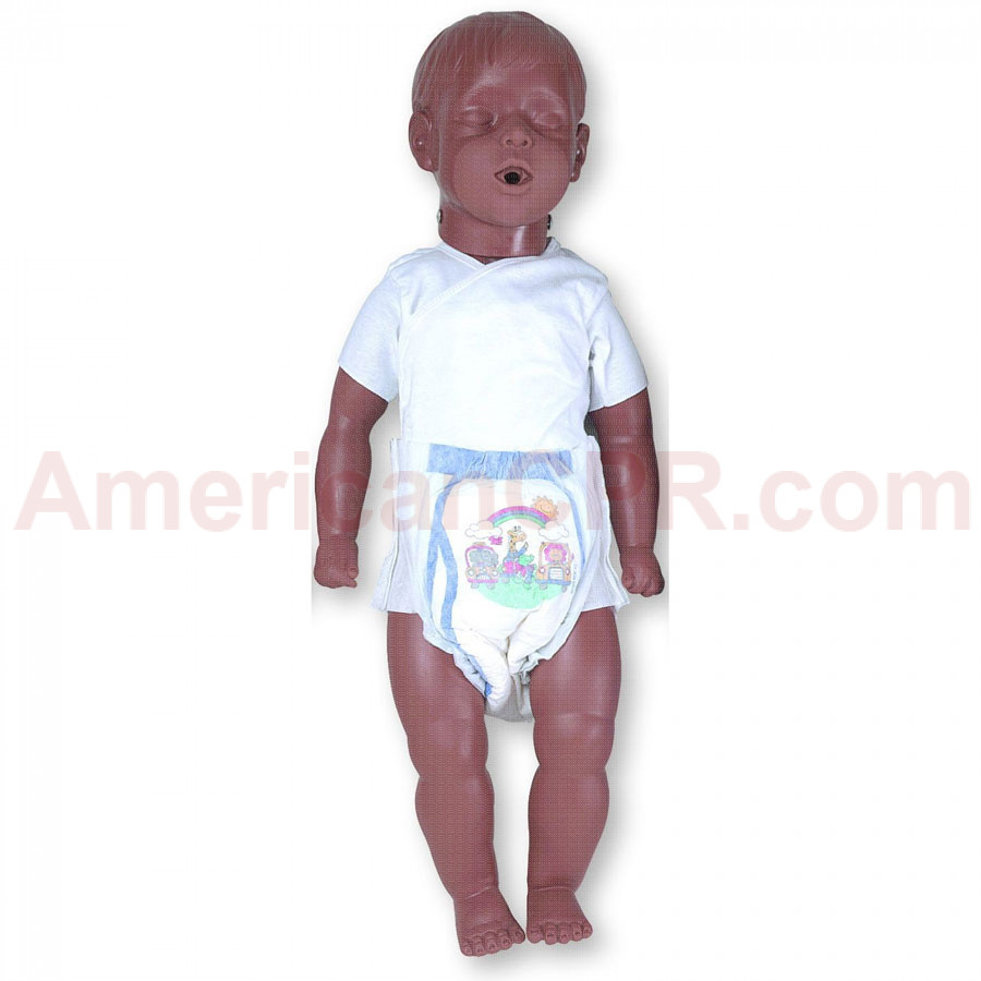 6 to 9 Month Old Kevin w/ Carry Bag - African American - Simulaids