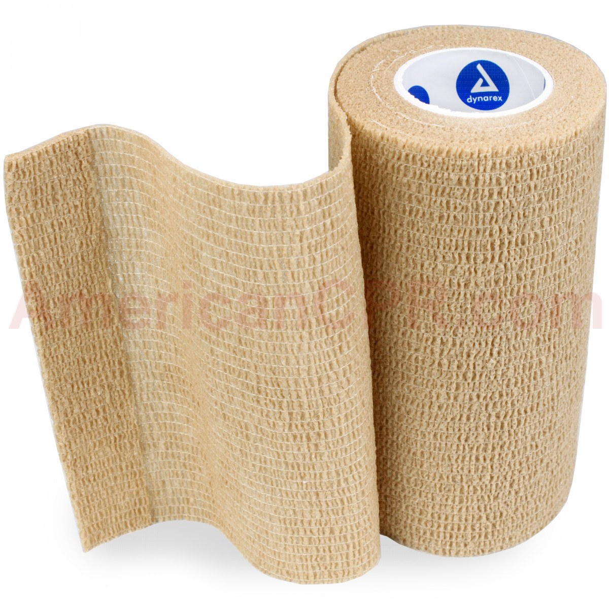 "Sensi Wrap, Self-Adherent - Latex Free, 4"" x 5 yds Tan, 1 each, Dynarex"