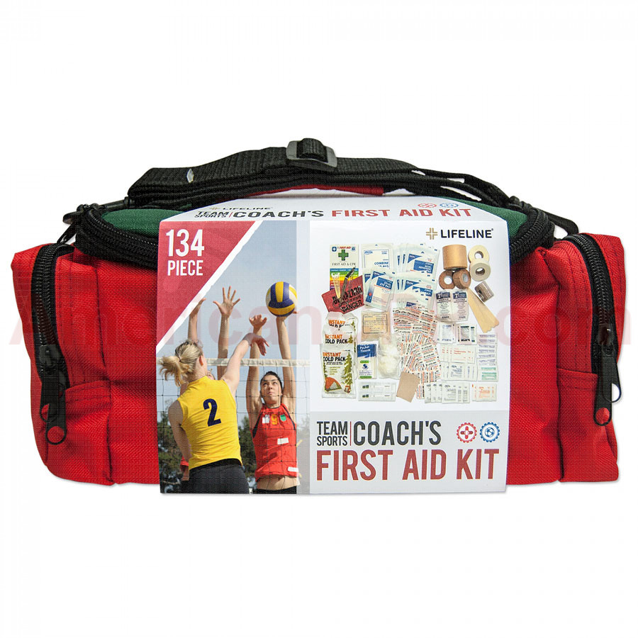 Team Sport Coach's Kit First Aid Kit / First Aid Bag - Lifeline First Aid