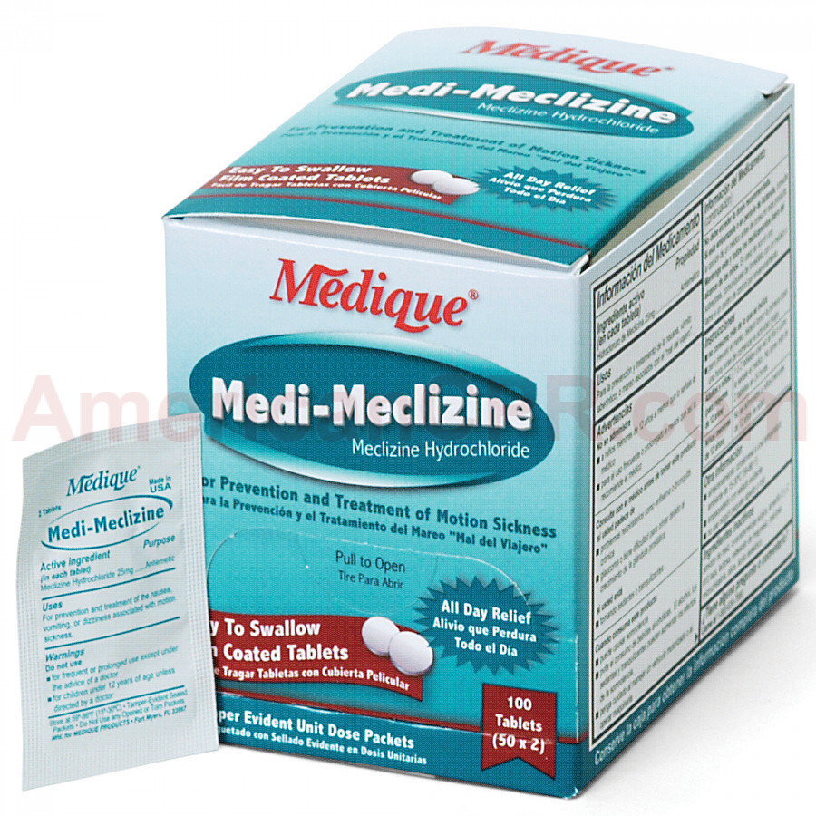 Medi-Meclizine, 100/box, Medique