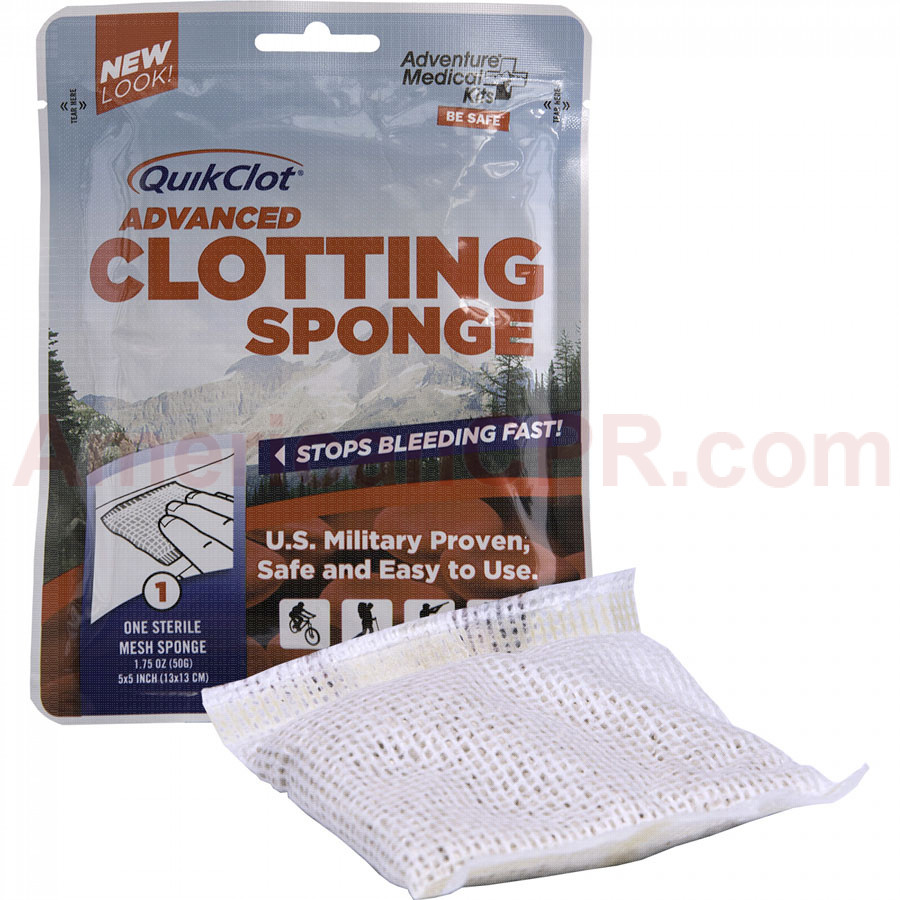 QuikClot Advanced Clotting Sponge 50g - QuickClot