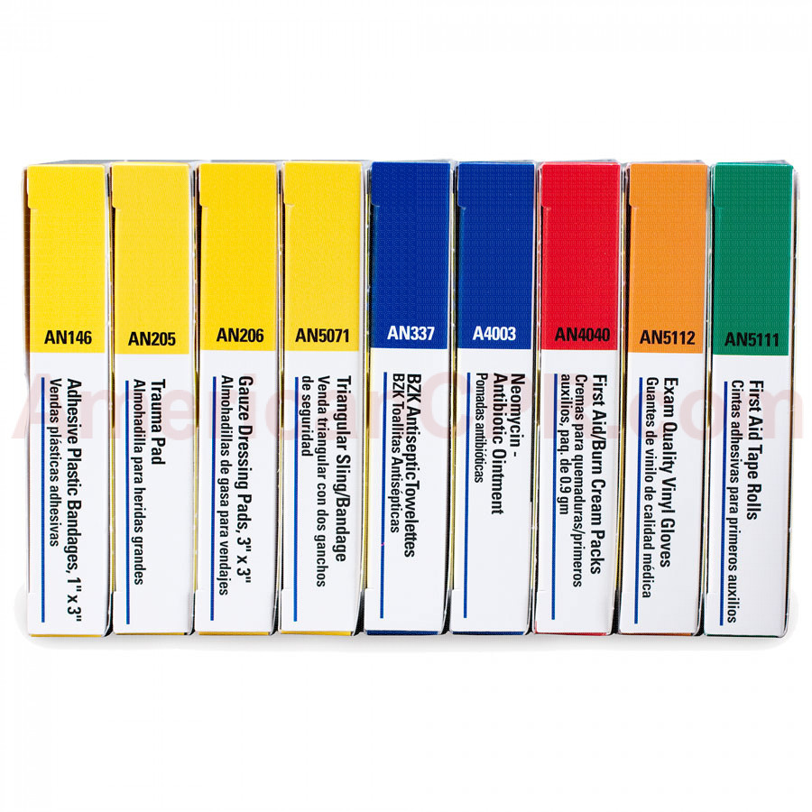 Refill Brick for 10 Unit First Aid Kits: 238-AN & 240-AN - First Aid Only