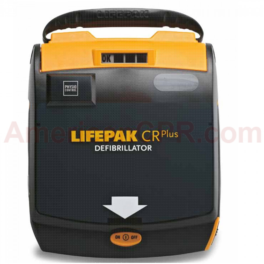 LIFEPAK CR Plus AED Kit Semi-automatic AHA voice prompt - Physio-Control