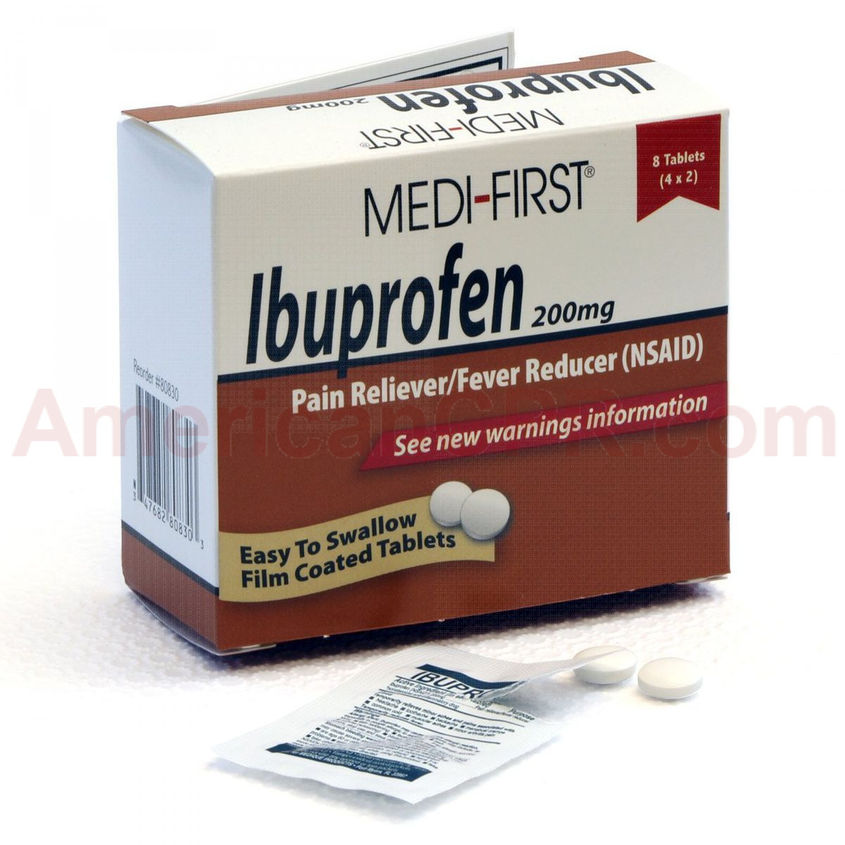 Ibuprofen, 8/box, Medi-First