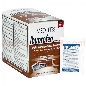 Ibuprofen, 100/box, Medi-First