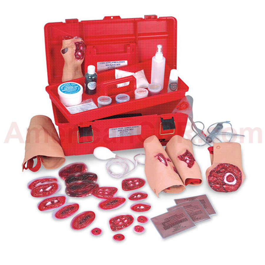 Multiple Casualty Simulation Kit - Simulaids