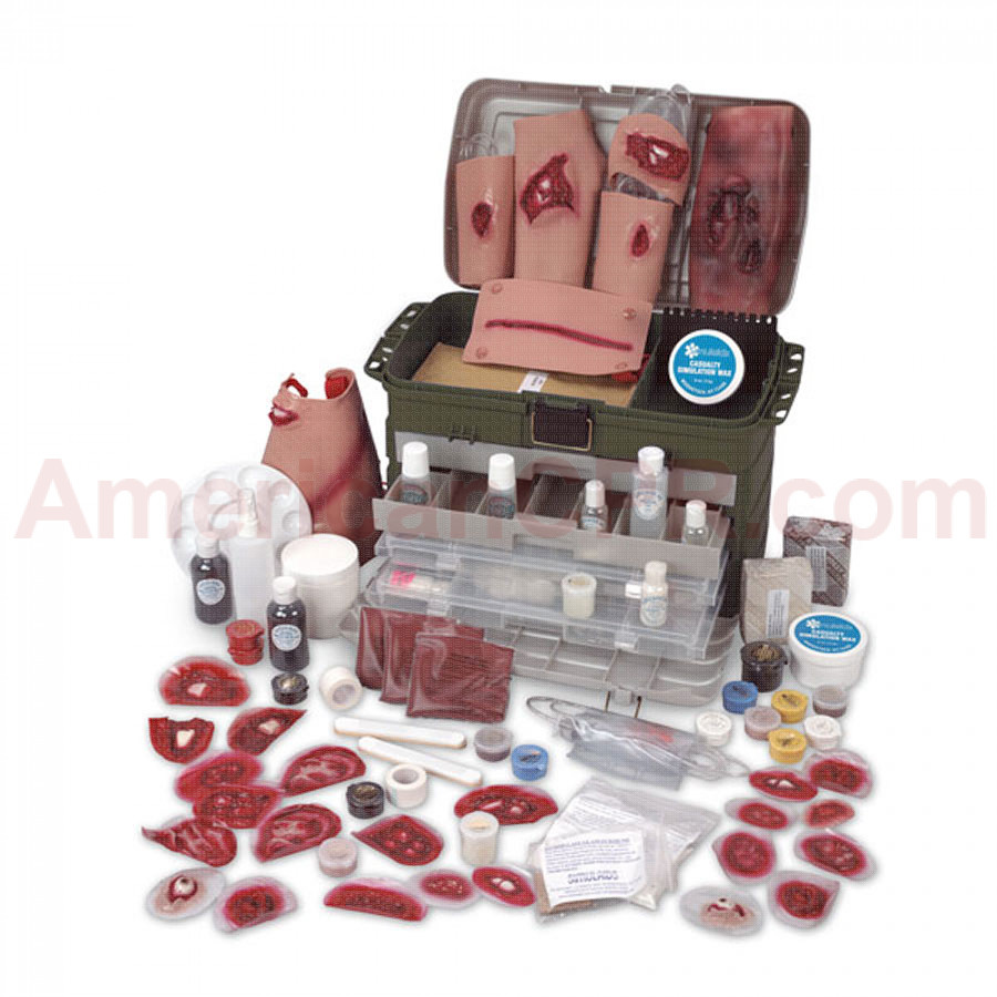 Deluxe Casualty Simulation Kit - Simulaids