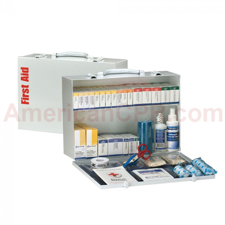 2 Shelf First Aid ANSI B+ Metal Cabinet -  First Aid Only