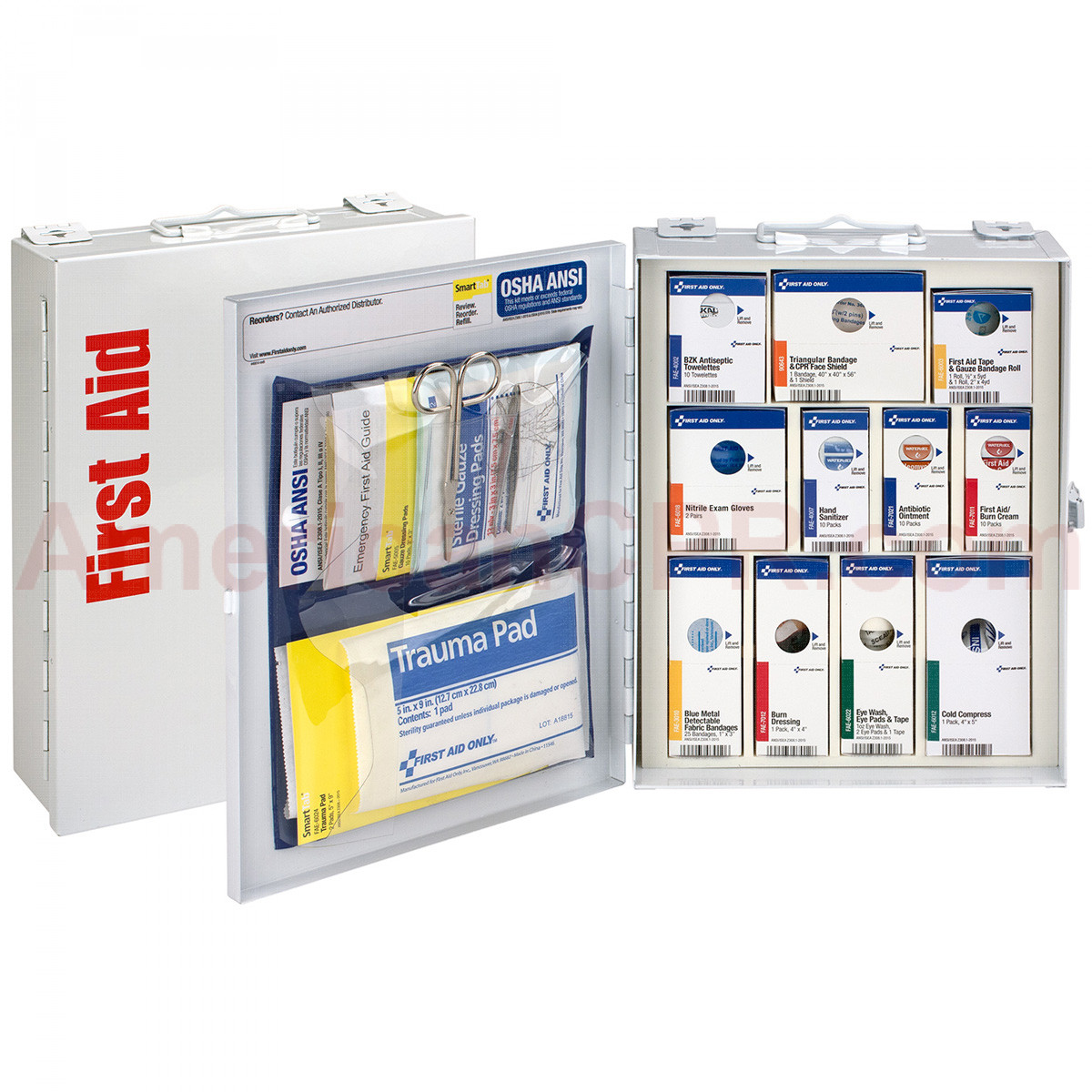 Medium Metal SmartCompliance Food Service Cabinet, ANSI A -  First Aid Only