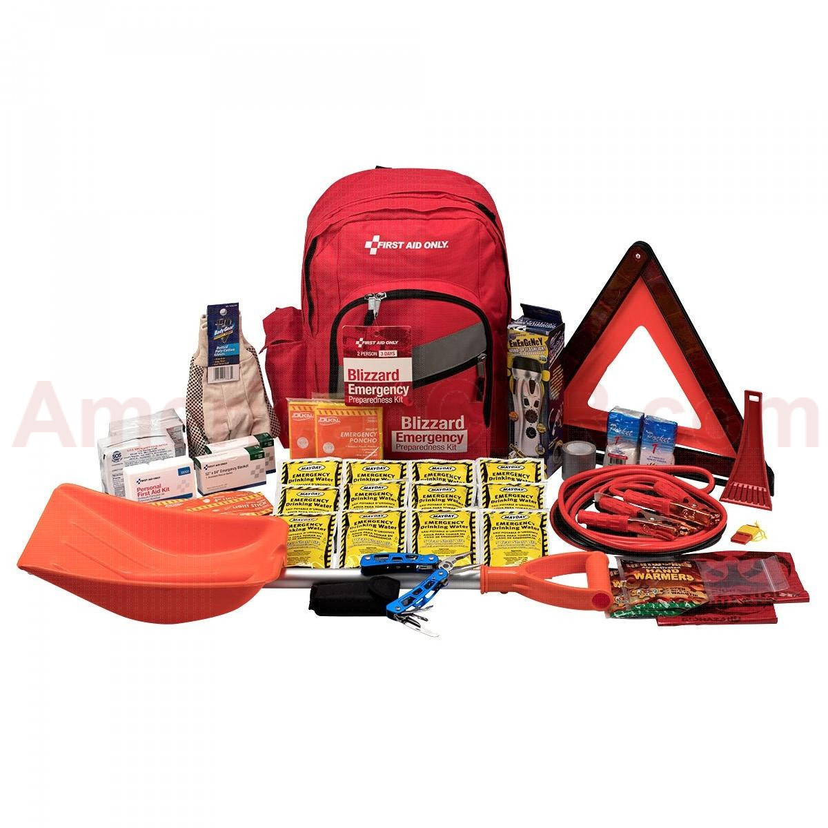 2 Person Emergency Preparedness Blizzard Backpack, First Aid Only