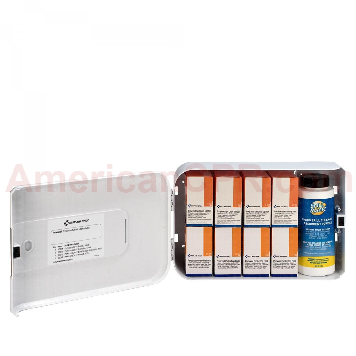 Smart Compliance Complete Cabinet BBP, Plastic, First Aid Only