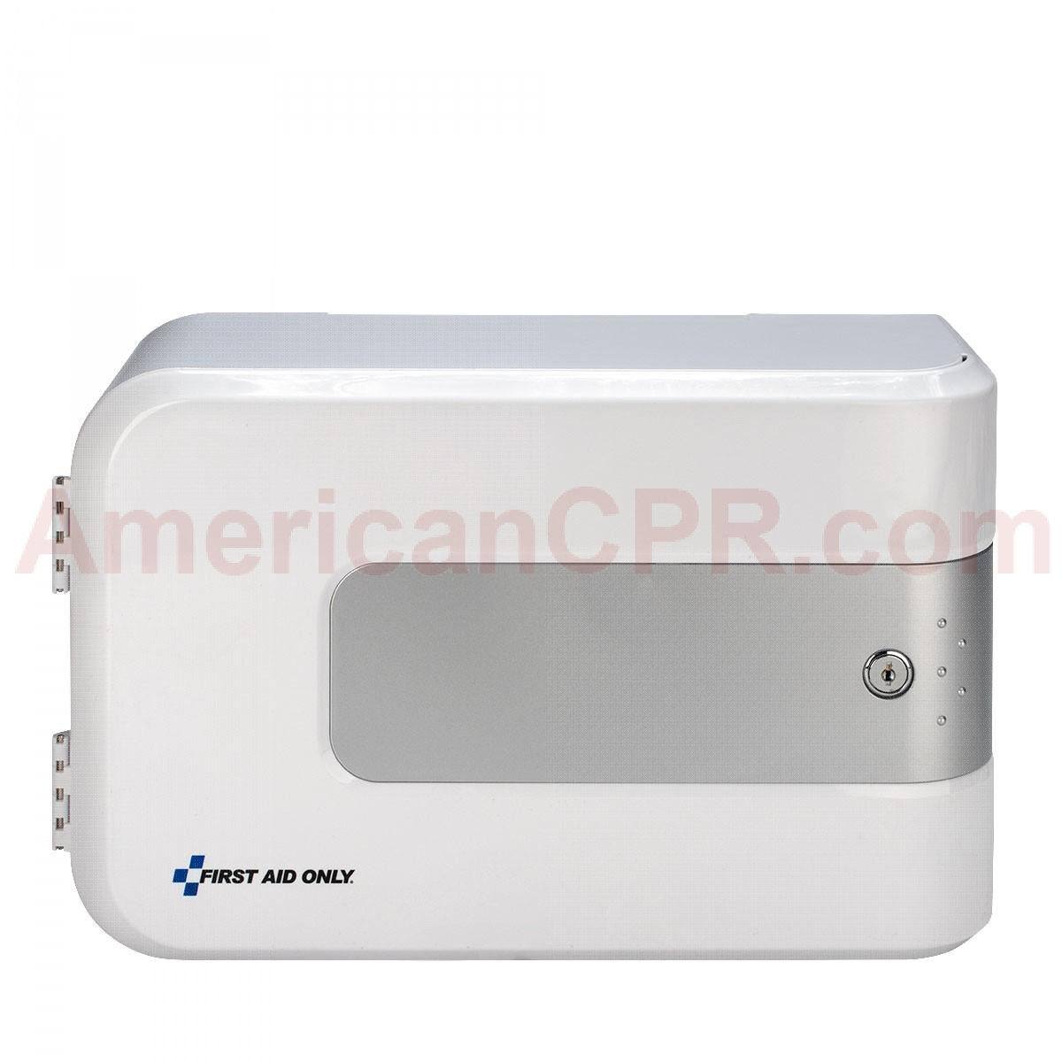 Smart Compliance Complete Empty Lockable Cabinet, Plastic, First Aid Only