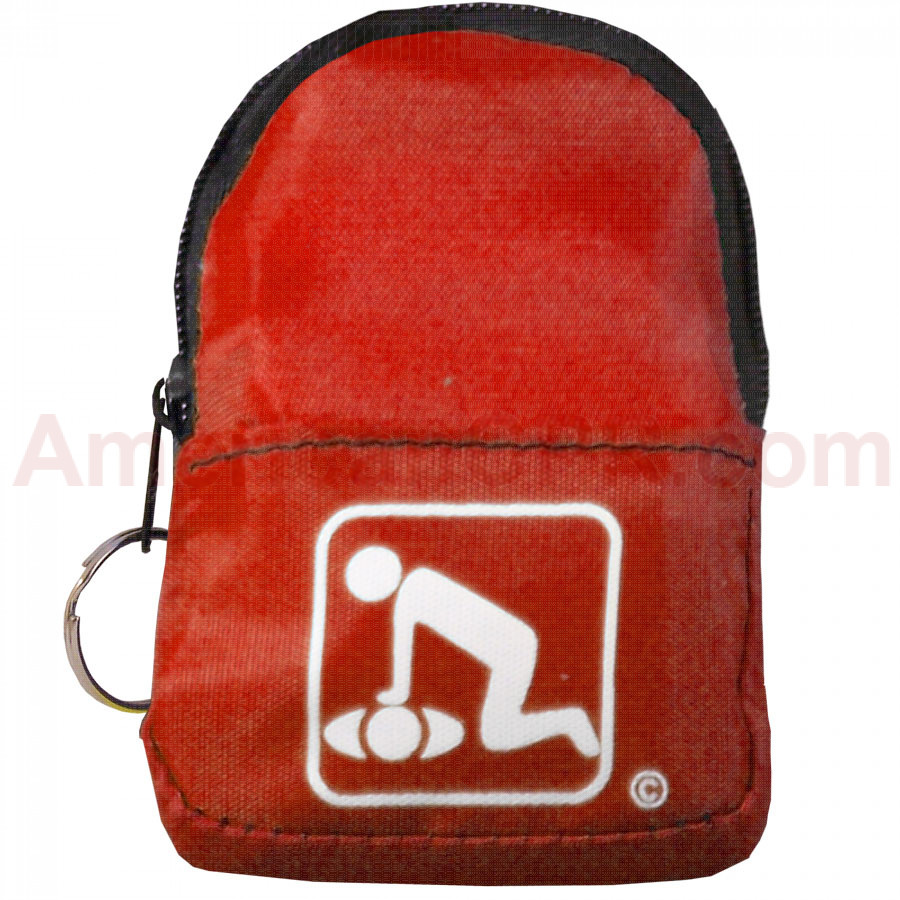 CPR Red BeltLoop/KeyChain BackPack - American CPR Training