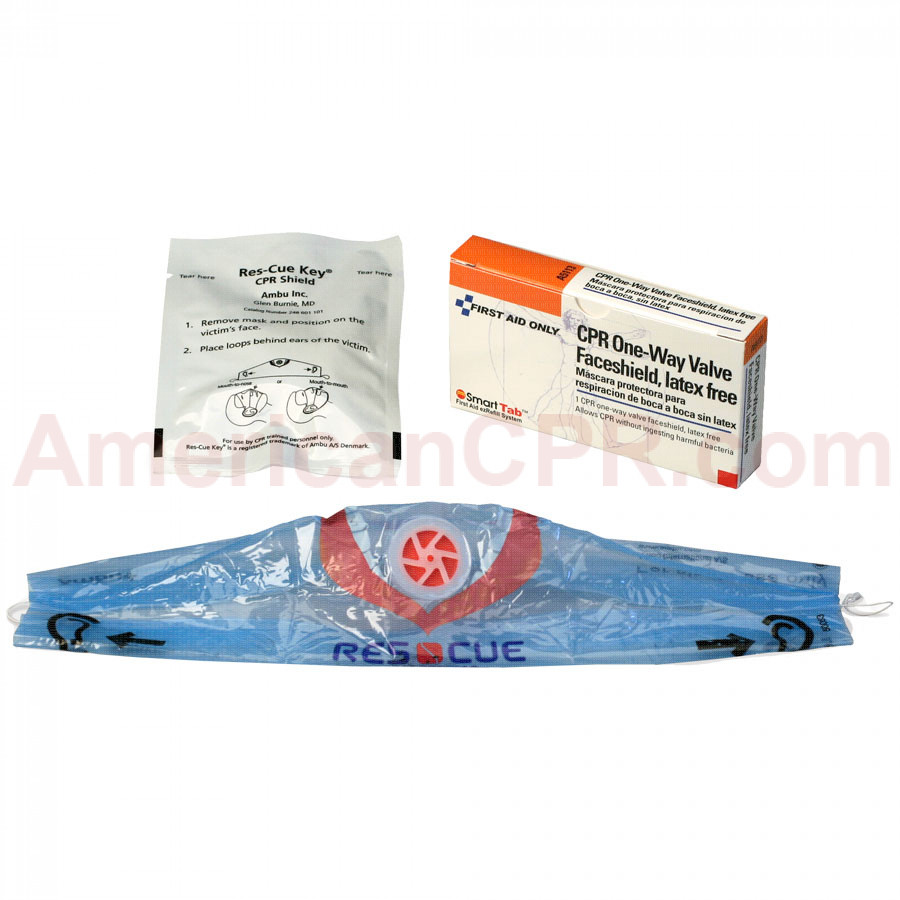 CPR Faceshield - 1 Per Box - Pac-Kit by First Aid Only