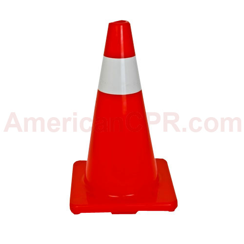 "18"" Orange Traffic Cones - Mayday"