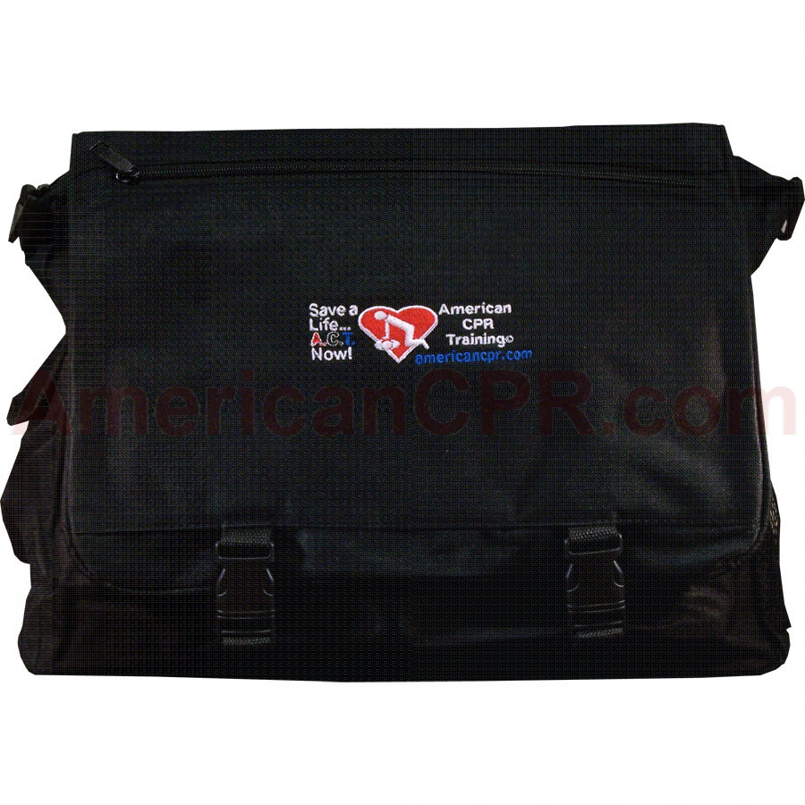 AEHS Black Instructor Business / Laptop Tote - American CPR Training