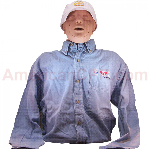 AEHS Men's Instructor Shirt - XXXL - American CPR Training