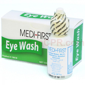 Eye Wash - Plastic Bottle - 1 oz. - 1 Per Box, Hart Health